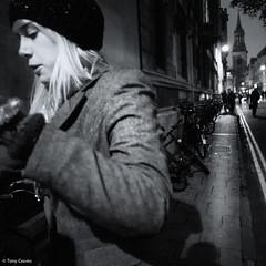 Oxford woman (TonyCearns) Tags: street leica bw tension m9 darkstreet