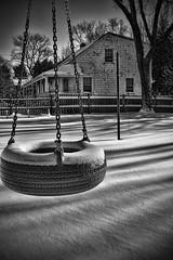 Untouched (Silverio Photography) Tags: winter blackandwhite snow photoshop canon newengland elements suburb pancake 24mm hdr topaz adjust stoughton massachuetts