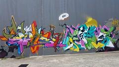 Rews & Achoe... (colourourcity) Tags: streetart graffiti awesome id letters melbourne burner joiner nofilters iloveletters rews achoe 40hk burncity mrachoe instinctdriven colourourcity artcrushmob rewsone colourourcitymelbourne