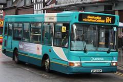 Arriva Midlands North Dennis Dart SLF/Plaxton Pointer 2 2162 (LF52 UOM) (Wednesfield) (john-s-91) Tags: suttoncoldfield arriva 2162 dennisdartslf arrivamidlandsnorth plaxtonpointer2 route604 lf52uom