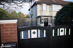 John Lennon's childhood home (gigchick) Tags: england house home childhood liverpool tour cab taxi beatles lennon johnlennon fab4 thebeatles fabfour