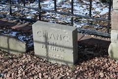 Chang the Faithful (jmaxtours) Tags: cemetery estate headstone 1938 tombstone killed lakeontario mississauga chang faithful petcemetery adamsonestate mississaugaontario changthefaithful killedaug1938