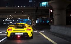 Mirage GT. (Alex Penfold) Tags: cars alex car yellow dubai uae super porsche mirage autos gt supercar carrera supercars penfold 2016 gemballa