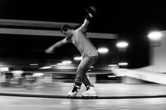 Rollerblades - 1 (caiocezr) Tags: city brazil color sport digital action colorphotography samsung rollerblade panning rollerblades goinia digitalphotography gois actionsport citysport samsungnx nx3000 caiocezr caiocezrfoto