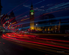 HC9Q2965-1a (rodwey2004) Tags: longexposure nightphotography landscape parliament bigben landmark lighttrails westminsterbridge