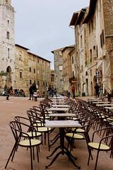 17 (EricaFaini) Tags: life carnival italy streetart café real photography san gimignano medieval tuscany sacred siena