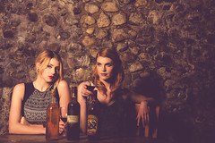 Rachel and Andrea - Together 2-11 (Jonathan Frings) Tags: wine models chess redhead blonde vault freckles cellar geolocation camera:make=canon exif:make=canon exif:focallength=70mm exif:aperture=80 exif:lens=ef28300mmf3556lisusm exif:model=canoneos5dmarkiii camera:model=canoneos5dmarkiii exif:isospeed=100