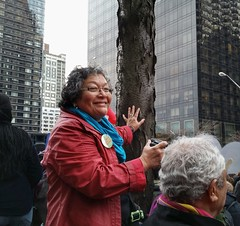 Rally for justice for the murder of Berta Cceres (UMWomen) Tags: indigenouswomen csw60