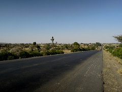 Road through the southern Shewa region