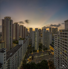 Flashlight (kiatography1) Tags: city houses sunset panorama house building skyline architecture skyscraper buildings town twilight singapore long glow cityscapes housing block rays february sunrays exploration residential hdb dri sunray estates crepuscular residents exposures dwelling crepuscularray toapayoh 2016 leadinglines dynamicrangeincrease housingestates buildingcomplex