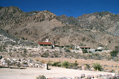 Visitor center and park headquarters, Providence Mountains State Recreation Area (birdgal5) Tags: california visitorcenter sanbernardinocounty providencemountains parkheadquarters 55mmf35micropc nikkormatel providencemountainsstaterecreationarea providencemountainssra