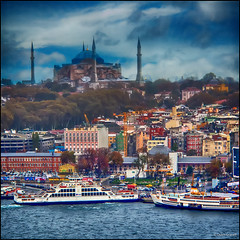 (2258) Istanbul (QuimG) Tags: turkey landscape paisaje olympus istanbul paisatge specialtouch quimg aiguaicel quimgranell joaquimgranell afcastell obresdart xtrmhdr