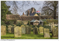 Union Flag (Paul Simpson Photography) Tags: uk trees england nature britain headstones icon graves lincolnshire british churchyard unionjack unionflag britains northlincolnshire photosof imageof photoof scawby imagesof sonya77 paulsimpsonphotography
