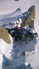 (p2an) Tags: chamonix alpineclimbing grandsmontetridge aretedubelvedere artedupetitbelvdre