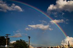 Arco-iris (Marciobien) Tags: sky azul arcoiris sopaulo nuvens taboaodaserra 24105mm canon24105f4 24105mmf4 canoneos7d canon7d marciobianchi marciobien