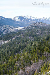 From Far (camilaimbire) Tags: california lake snow mountains landscape tahoe