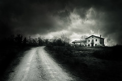 The way home (iker_oa) Tags: white storm black canon stormy cluds 6d