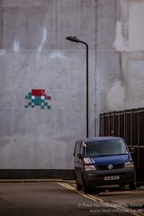 Space Invader Graffiti, London