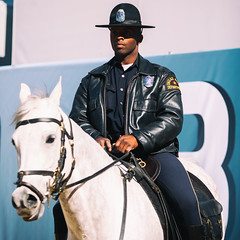 Dallas Cowboys (Thomas Hawk) Tags: horse usa america dallas texas unitedstates fav50 unitedstatesofamerica police cop policehorse fav10 fav25 dallaspd