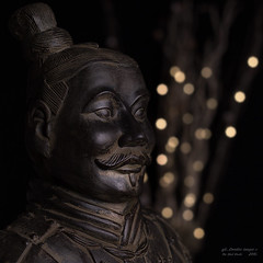 The Last Warrior. (kirby126) Tags: canon 50mm bokeh f14 terracottawarrior canon6d removedfromstrobistpool incompletestrobistinfo seerule2 yn568ex pjlimages