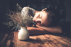 good afternoon nap (polo.d) Tags: sleeping portrait woman plant girl vintage asian nap dream dramatic siesta bestportraitsaoi