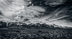 Trouble Brewing (Charles' Snaps) Tags: clouds canon landscape sigma stormy sierranevada hwy395 bnw easternsierras sigmalenses 395north canon6d bnwphotography teamcanon on1photos on1pics sigmaart24mm