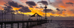 End of day (ChrisKirbyCapturePhotography) Tags: sunset brighton jetty adelaide southaustralia endoftheday brilliantsky brightonjetty