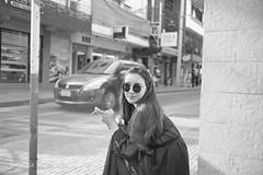 A women relax with smoking (OkusaTH) Tags: street girl women smoking