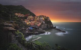 Good morning Manarola (Cinque Terre / Italy)