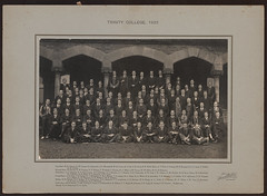 Trinity College, 1922 (Trinity College, The University of Melbourne) Tags: 1920s students trinitycollege 1922 theuniversityofmelbourne residentialcollege
