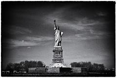 2016_03-0390a-Silver_Web (romel e.) Tags: nyc newyorkcity blackandwhite bw ny newyork monochrome landscape harbor blackwhite newjersey nj statueofliberty newyorkharbor