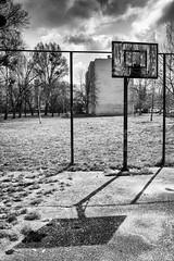 Empty city ground (The_BigBadWolf) Tags: street city urban blackandwhite monochrome ground block