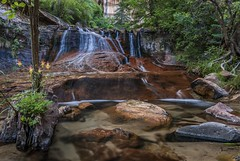 *Left Fork Cascades* (albert.wirtz) Tags: usa southwest nature subway waterfall nationalpark unitedstates wasserfall ngc natur tokina1224 cascades zionnp nikond200 leftforkofnorthcreek sdwesten albertwirtz