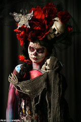 Mardi Gras (Red Cathedral is having big trouble uploading on M) Tags: sony eerie bodypaint horror gras bodypainting alpha bodyart mardi redcathedral a850 eventcoverage sonyalpha aztektv