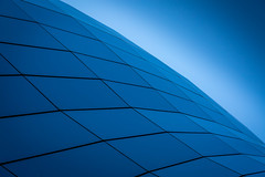 'Far beyond the pale horizon....' (Baz:Matthews) Tags: blue light newcastle horizon curves culture sage minimal gateshead bluehour minimalism curved northeast tyneside minimalist modernarchitecture geordie deepblue thebluehour sagecentre bazmatthews