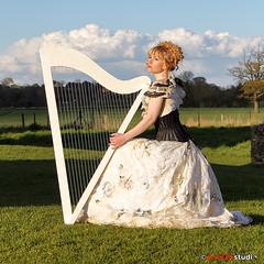 Saxon Studio Sandbach - Studio Lighting Workshop - Miss Rosie Lea (Peter J Bailey - Saxon Studio) Tags: portrait white classic beauty training vintage studio photography lights model shoot photoshoot rosie style location workshop harp saxon sandbach peterjbailey missrosielea