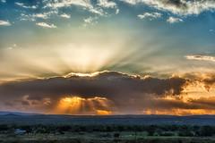 Sunrise (inlightful) Tags: morning light sunset sky sun sunshine clouds sunrise dawn heaven dusk rays sunrays goodmorning sunbeams crepuscularrays