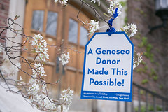 Happy TAG Day! (SUNY Geneseo) Tags: students campus spring day tag tags thank around suny tagging kw giver 2016 geneseo tagday spring2016