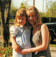 Hope and Heidi on prom day (LarrynJill) Tags: family heidi hope child formal 1999 prom