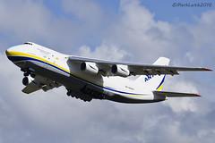 Antonov Design Bureau , Antonov An-124, UR-82007. (M. Leith Photography) Tags: design scotland airport nikon bureau aviation jet scottish ukraine aeroplane cargo nikkor heavy airliner prestwick freighter antonov an124 d7000 70200vrii markleithphotography