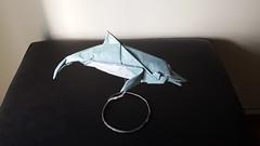 Dolphin (Fumiaki Kawahata) (maredo77) Tags: origami dolphin kawahata