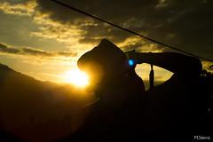 Cazando Atardeceres (sierramarcos14695) Tags: travel viaje luz sol del atardecer natural guatemala dia final cielo nubes silueta hombre aldea huehuetenango explorando canoguitas