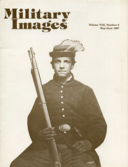 Military Images magazine cover, May/June 1987 (militaryimages) Tags: history infantry mi america magazine soldier photography rebel us marine uniform photographer unitedstates military union navy archive confederate worldwari civilwar american weapon tintype ambrotype artillery stereoview cartedevisite sailor ruby veteran roach daguerreotype yankee cavalry neville spanishamericanwar albumen mexicanwar coddington backissue citizensoldier indianwar heavyartillery matcher findingaid militaryimages hardplate