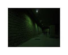Le vert toxique d'Arno Schmidt (hlne chantemerle) Tags: panorama green sol architecture divers structures vert sombre vue paysages murs ombres soussol photographies denuit btiments photosderue