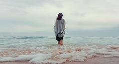 Rhythm of the sea (Hom'J) Tags: sea people colour film girl beautiful outdoor sony a6000 bestportraitsaoi sonya6000