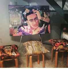 Pintura e Almofadas (Alegraziani Produto Ilustrado (11) 96175.8787) Tags: art design casa artwork artist arte illustrations decor interiores decorao almofadas jundiai alegraziani arteemjundiai