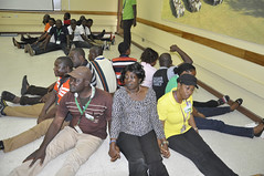 Staff in team building training (IITA Image Library) Tags: w breeding nigeria cassava ibadan iita manihotesculenta orkshop cassavabreedingunit