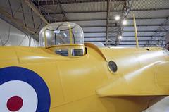 Gun turret of a Bristol Bolingbroke (Ronald_H) Tags: uk holiday film museum bristol scotland nikon gun flight national expired fm turret warbird 2016 bolingbroke