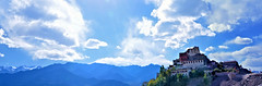 Thiksay Monastery (Gompa)..... A Panorama (pallab seth) Tags: city travel panorama india mountain tourism landscape asia tour monastery valley layers leh himalayas thikse highaltitude gompa jammuandkashmir indusvalley thiksay thikseygompa