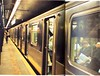 6 Train at 68th St./Lexington Ave (Hunter College Archives) Tags: yearbook hunter 1995 subwaystation 6train lexingtonave huntercollege 68thst wistarion thewistarion